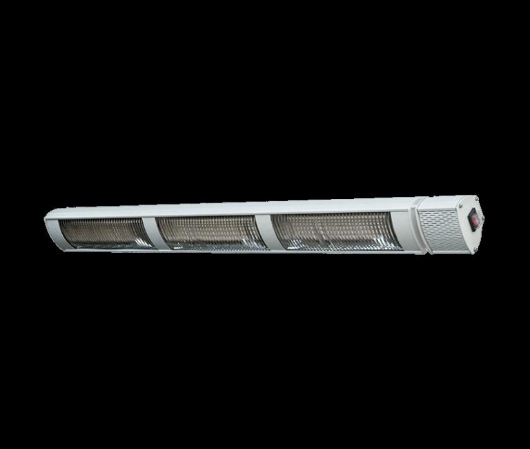 Provida terrassevarmer 3x800w HVIT terrassevarmer som ikke avgir lys