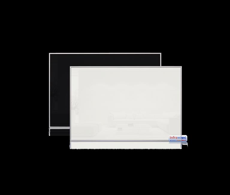 Sort og hvit 1100x600 infrarødt varmepanel ir varme sunn varmekilde