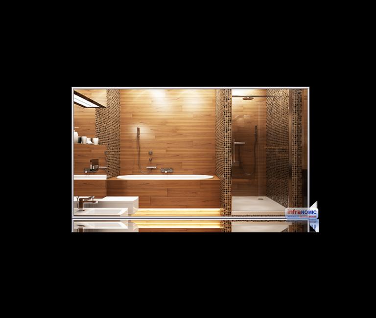 infrarød varme speil varme-på-bad
