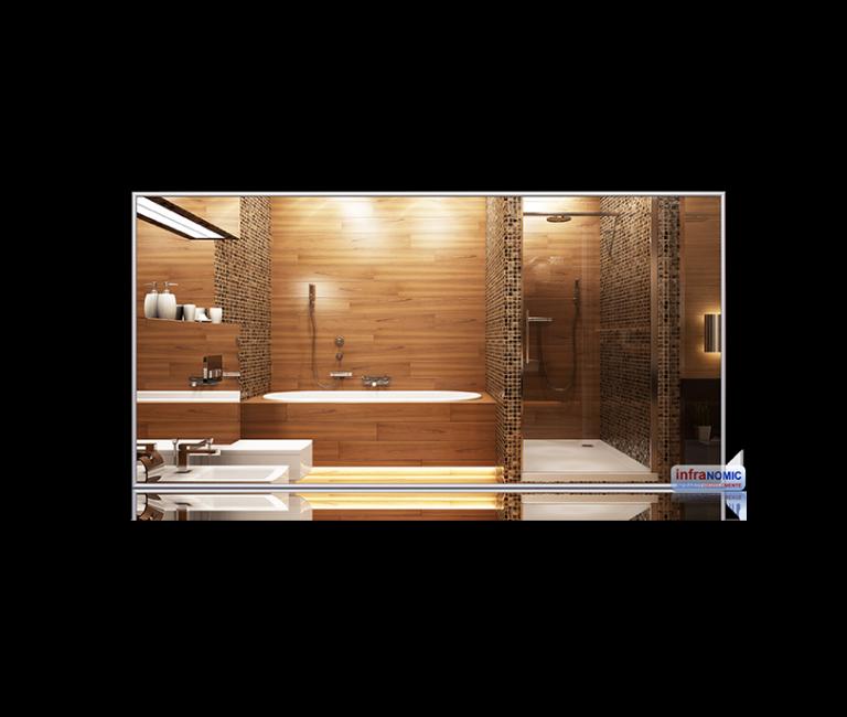 Spiegel Standard 1200x600 infrarød varme speil varme-på-bad