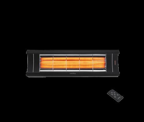 AERO S 2500w terrassevarmer karbonrør