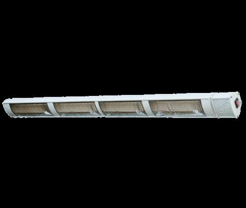 Provida Max Power 4x800w Hvit terrassevarmer som ikke avgir lys
