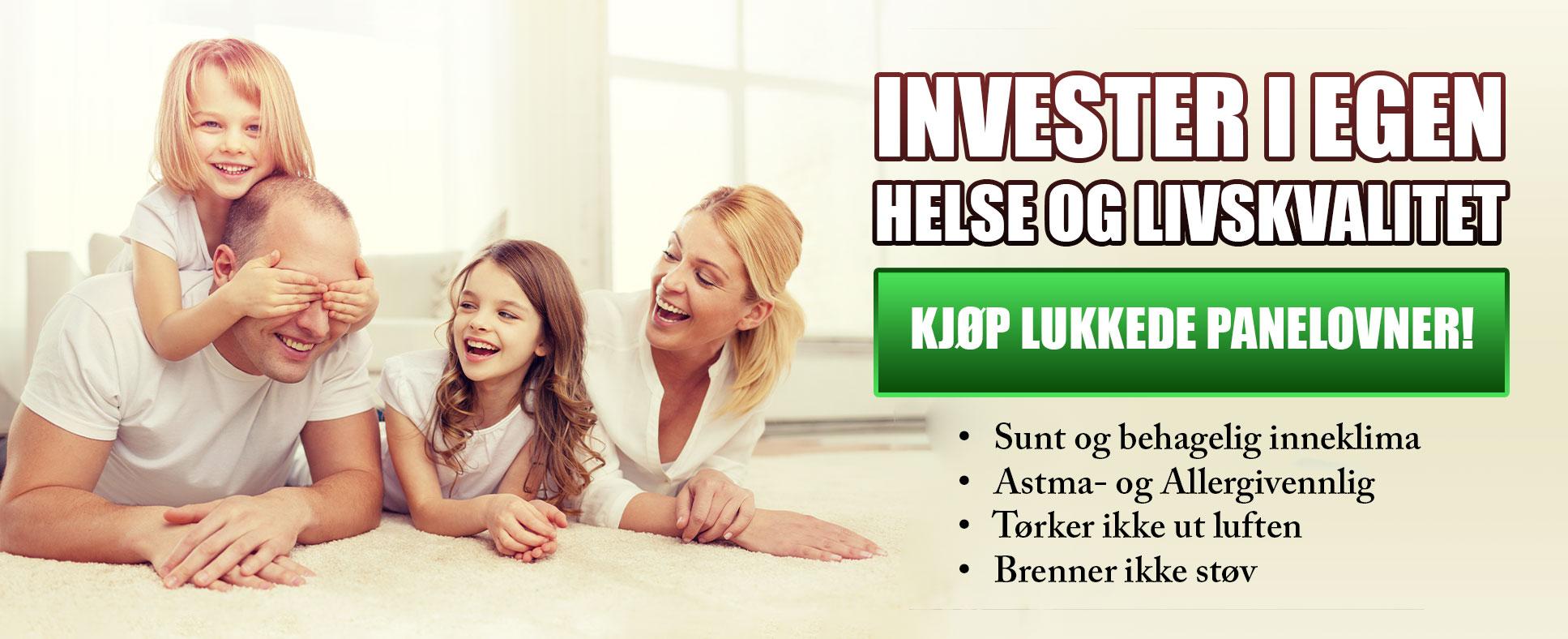 Invester i helse og livskvalitet - Annonse